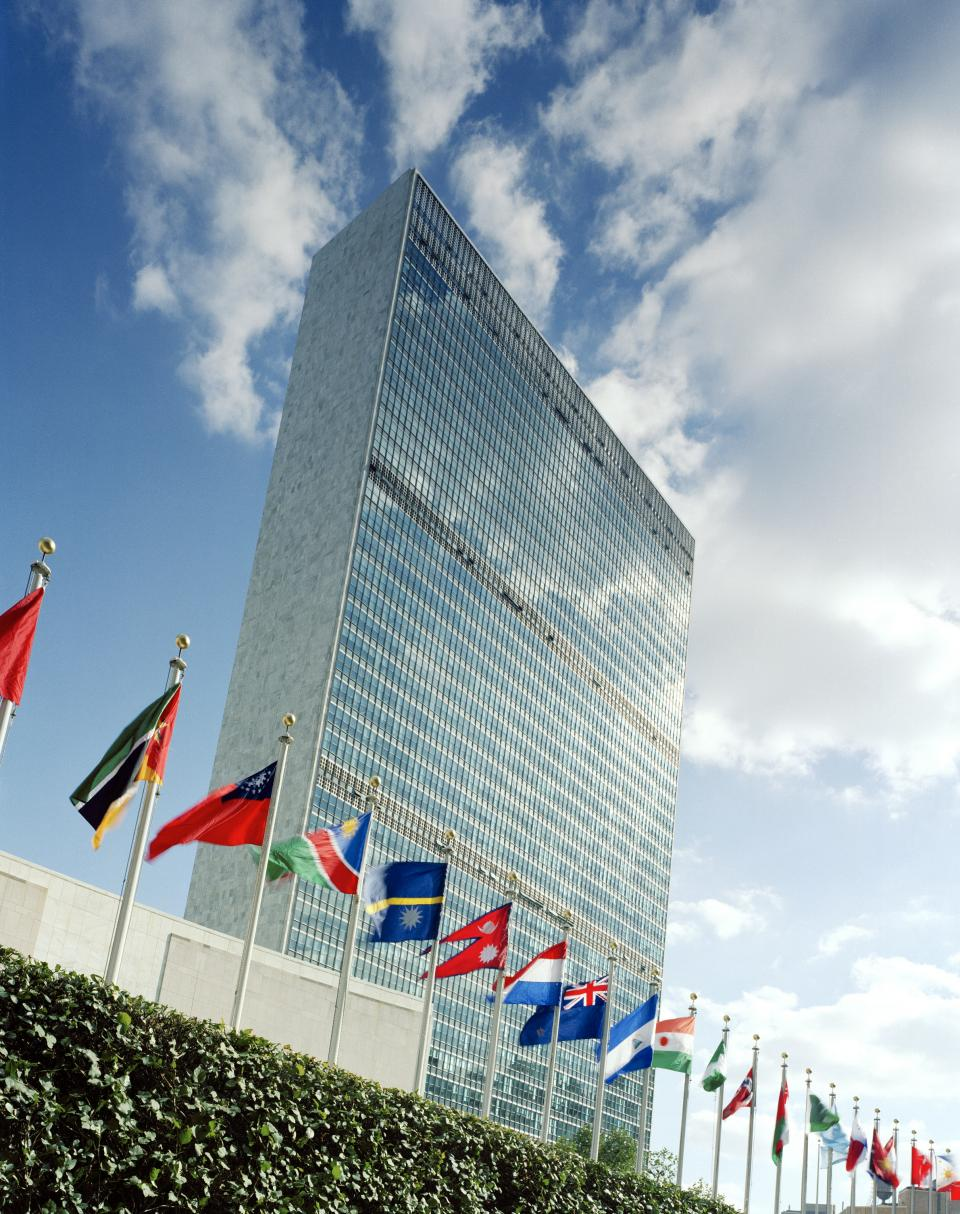 Photo of the United Nations Secretariat Building